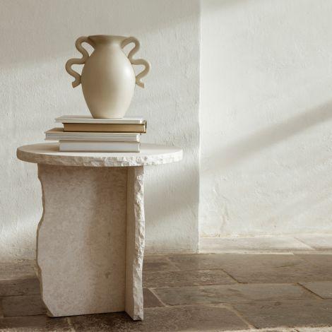 ferm LIVING Vase Verso Cream