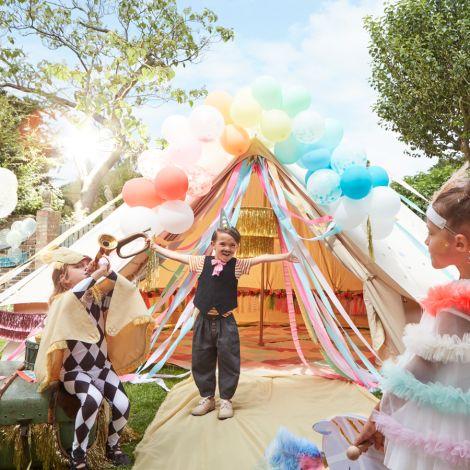 Meri Meri Ballons Regenbogen 40-teilig