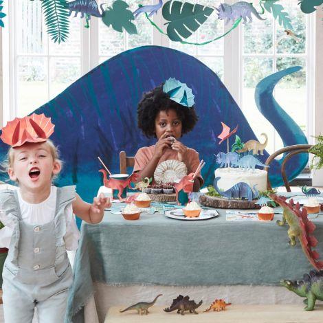 Meri Meri Torten-Dekoration Dinosaurier Königreich 6-teilig