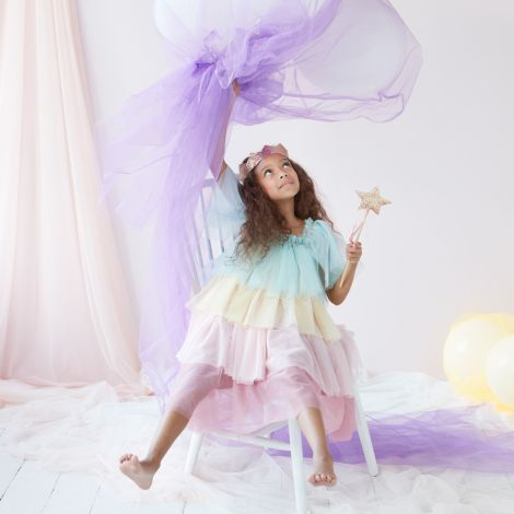 Meri Meri Verkleidung Regenbogen Rüschen Prinzessin 3-4 Jahre