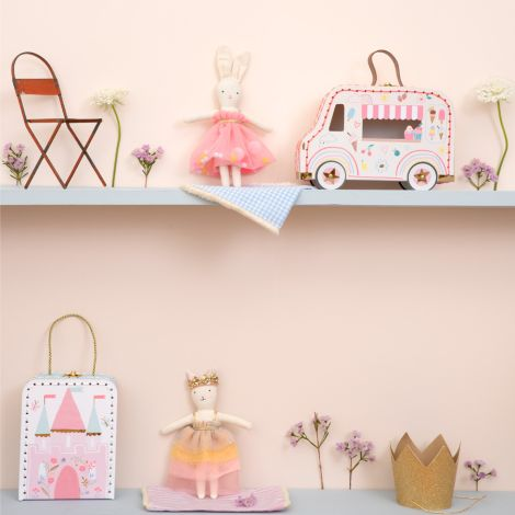 Meri Meri Mini-Kofferpuppe Ice Cream Van Hase
