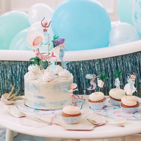 Meri Meri Cupcake Kit Meerjungfrau