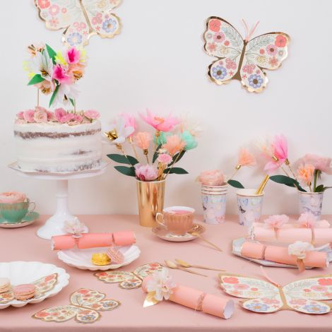 Meri Meri Party-Cracker Papier Blumen 6er-Set