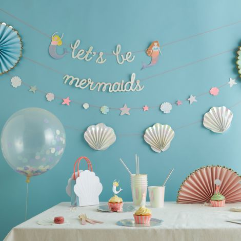 Meri Meri Muffin-Dekoset Meerjungfrau