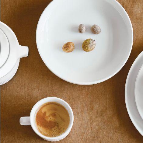Marc O'Polo Espressotasse mit Unterteller Moments Chalk White