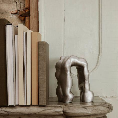 ferm LIVING Skulptur Morf Brushed Aluminium