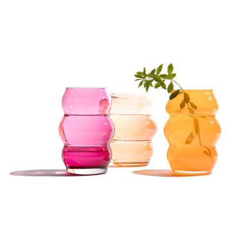 FUNDAMENTAL.BERLIN Vase Muse Small Rubine