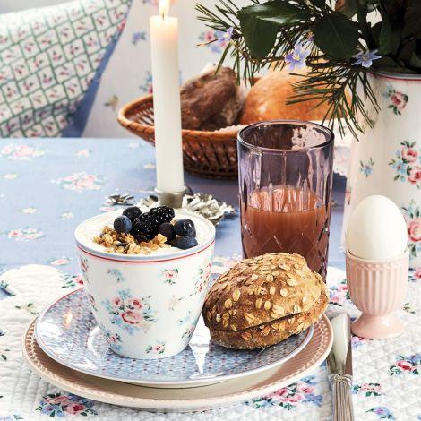 GreenGate Latte Cup Becher Nicoline White