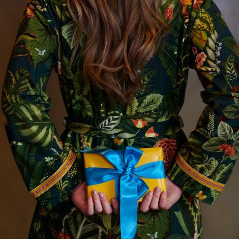 PIP Studio Kimono Ninny Forest Foliage Green