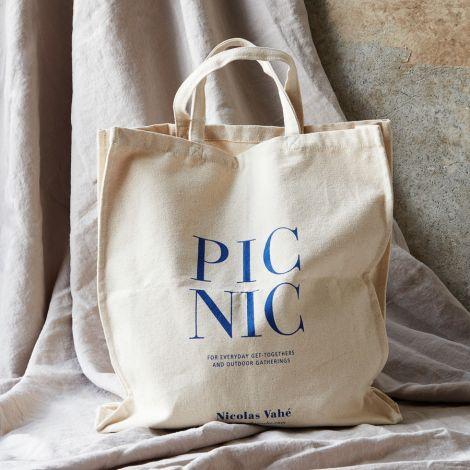 Nicolas Vahé Tasche/Shopper Picnic Weiß