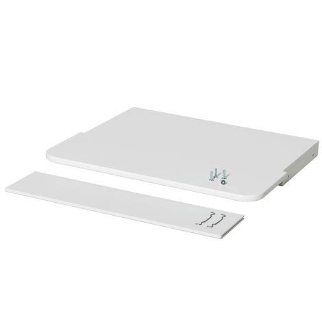Oliver Furniture Schreibtischplatte für Stand-Regal Seaside Weiß