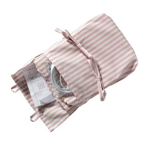 Oliver Furniture Vorhang für Seaside Lille+ halbhohes Hochbett rosa Streifen
