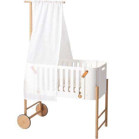 Oliver Furniture Wood Betthimmel für Beistellbett Weiß