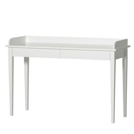 Oliver Furniture Konsolentisch mit 2 Schubladen Weiß