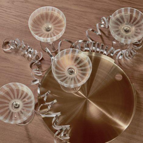 OYOY Mizu Champagner Glas Clear 2er-Set