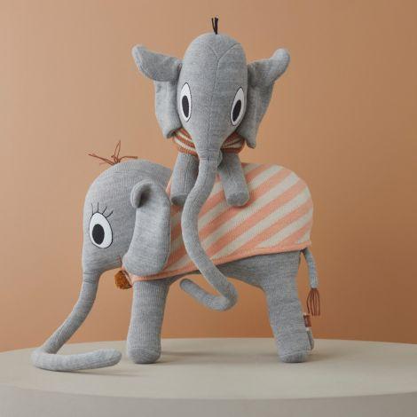 OYOY Kuscheltier Henry Elephant Grey