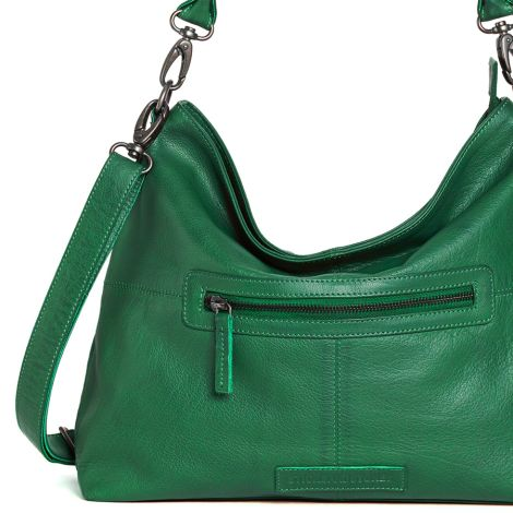 Sticks and Stones Ledertasche Paris Cactus Green Washed •