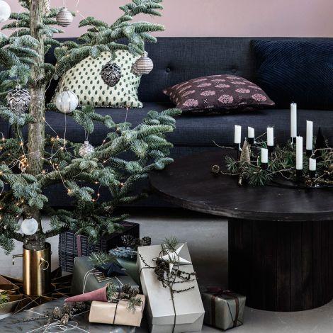 House Doctor Weihnachtsbaumständer Star Messing