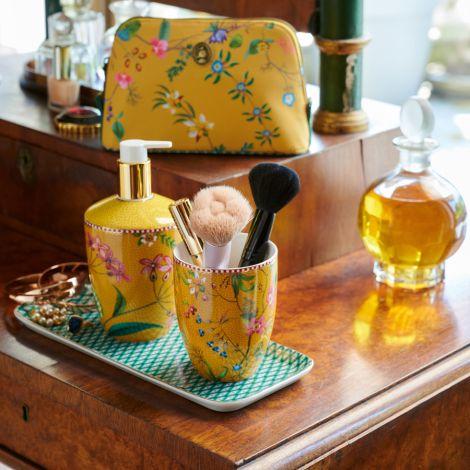 PIP Studio Badezimmer-Accessoires Petites Fleurs 3-teilig