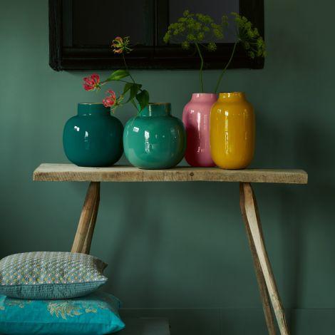 PIP Studio Vase Metall Dark Green 25cm