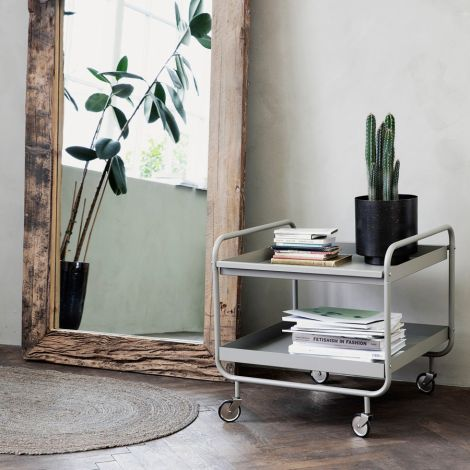 House Doctor Trolley/Servierwagen Roll Grau •