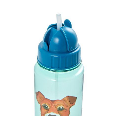 Rice Trinkflasche Kids Farm Animals Green 500 ml
