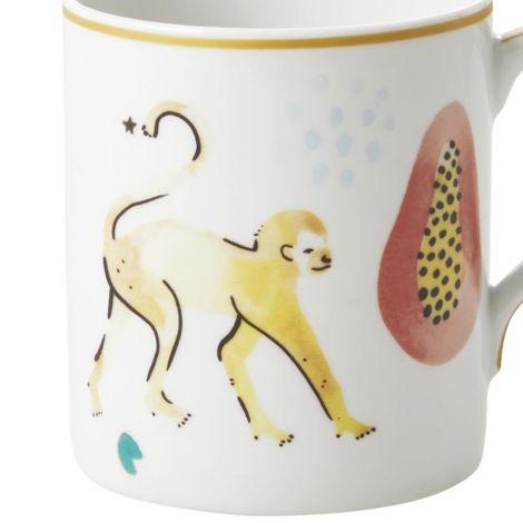 Rice Porzellan Tasse Monkey 350 ml •