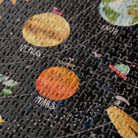 Londji Micropuzzle Discover the Planets 600-teilig