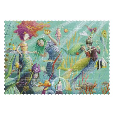 Londji Pocket Puzzle My Mermaid 100-teilig