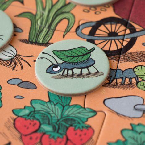 Londji Puzzle Rabbit's Garden Look&Find 24-teilig