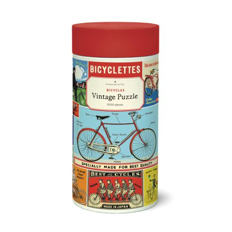 Cavallini Puzzle  Bicycles 1000-teilig