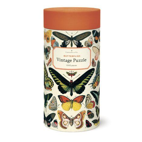 Cavallini Puzzle Butterflies 1000-teilig