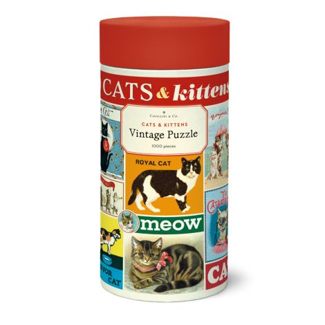 Cavallini Puzzle Cats & Kittens 1000-teilig