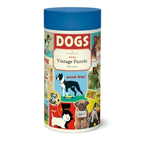Cavallini Puzzle Dogs 1000-teilig