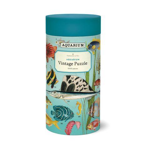 Cavallini Puzzle Aquarium 1000-teilig