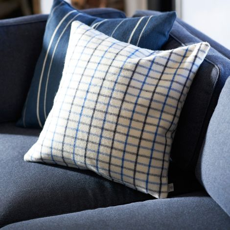 FDB Møbler R16 Slotsholmen Zierkissen Blau 60 x 40 cm