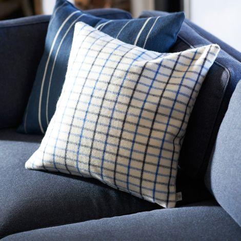 FDB Møbler R16 Slotsholmen Zierkissen Blau 50 x 50 cm