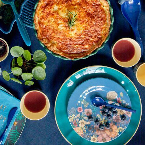 Rice Melamin Buttermesser Simply Yes 6er-Set