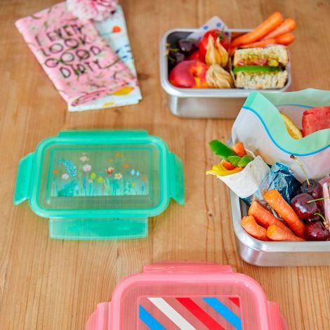 Rice Lunchbox Brotdose Edelstahl Summer Flowers