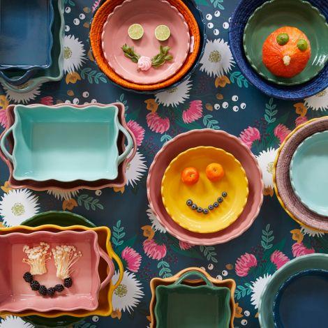 Rice Ofenform Keramik Yellow Medium