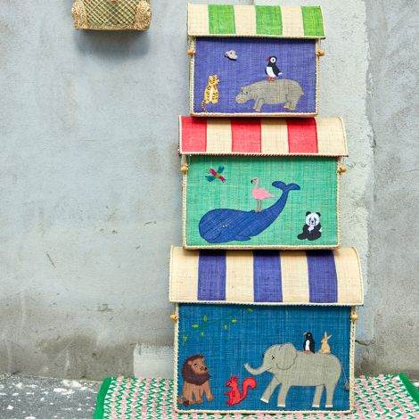 Rice Spielzeugkorb Animal