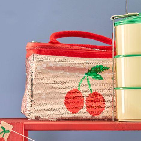 Rice Kühltasche mit Pailetten wendbar Cherry 4 L