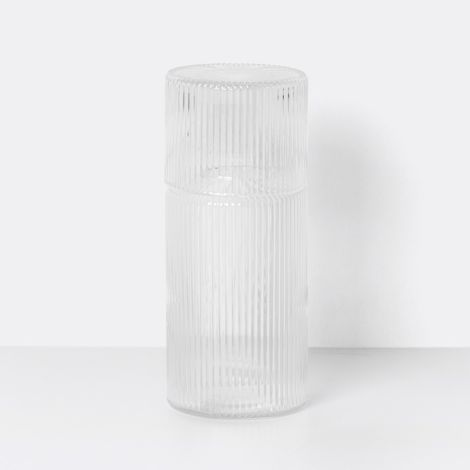 ferm LIVING Karaffen-Set Ripple Small