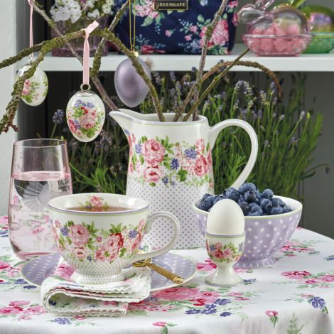 GreenGate Eierbecher Rose White