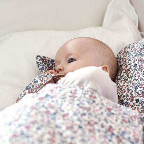 GreenGate Quilt Tagesdecke für Kinder Ruby Petit White 120x120cm