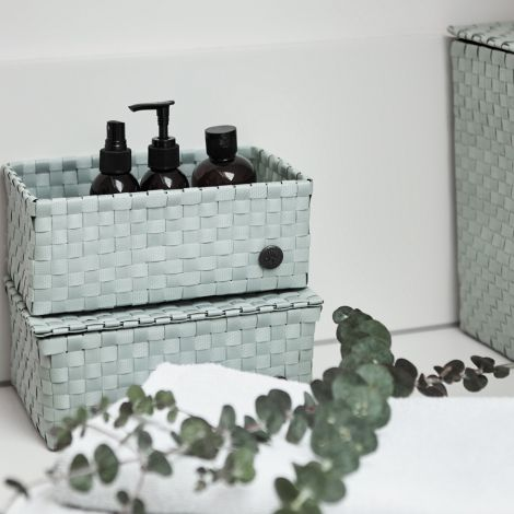 Handed By Korb Sardinia Greyish Green