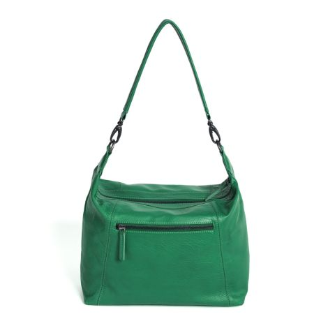 Sticks and Stones Ledertasche Savona Jungle Green Washed