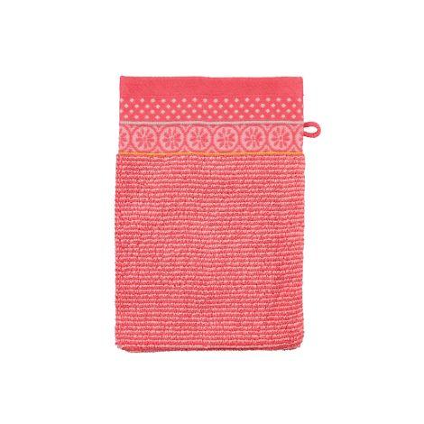 PIP Studio Handtücher Soft Zellige Coral Waschhandschuh: 16 x 22 cm
