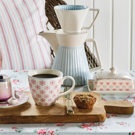 GreenGate Butterdose Sonia White