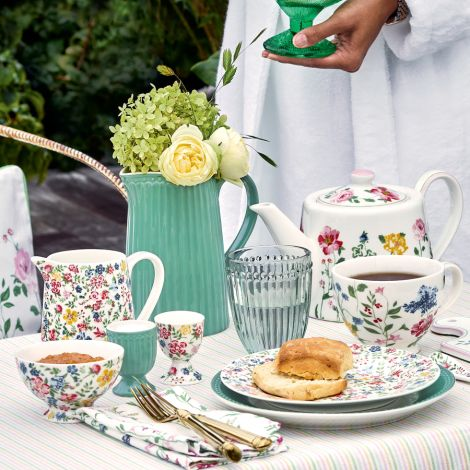GreenGate Butterdose Sophia White